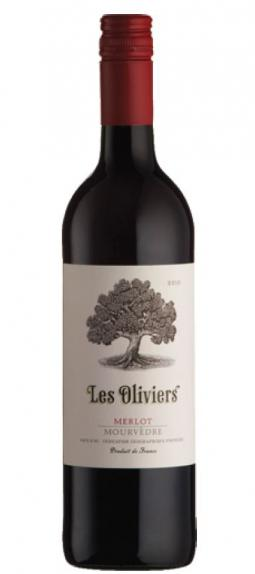 Les Oliviers Merlot - Mourvedre