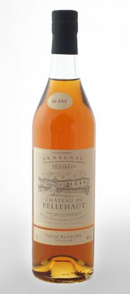 Armagnac 10 Years Old Folle Blanche, Chateau de Pellehaut
